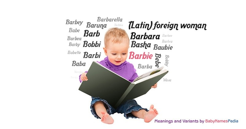 Meaning of the name Barbie