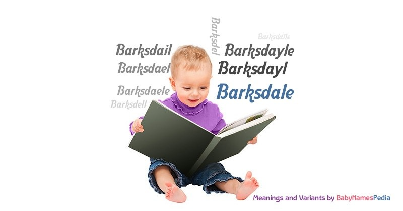Meaning of the name Barksdale