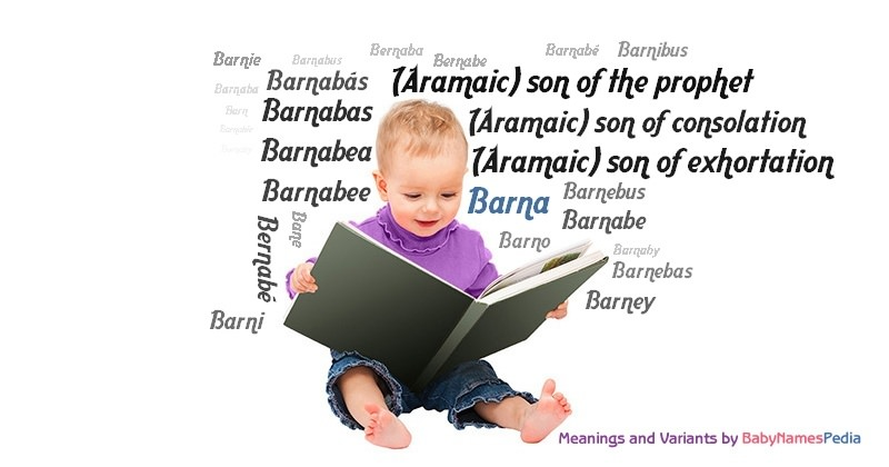 Meaning of the name Barna