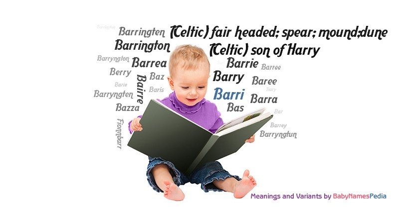 Meaning of the name Barri