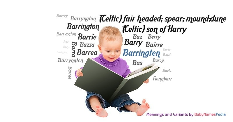 Meaning of the name Barringten