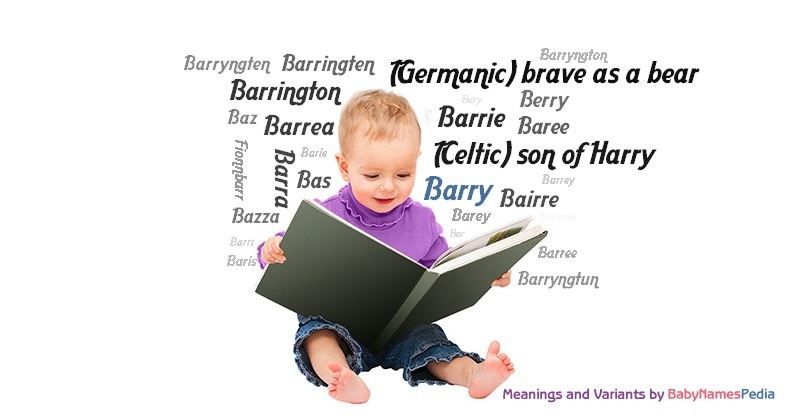 Meaning of the name Barry