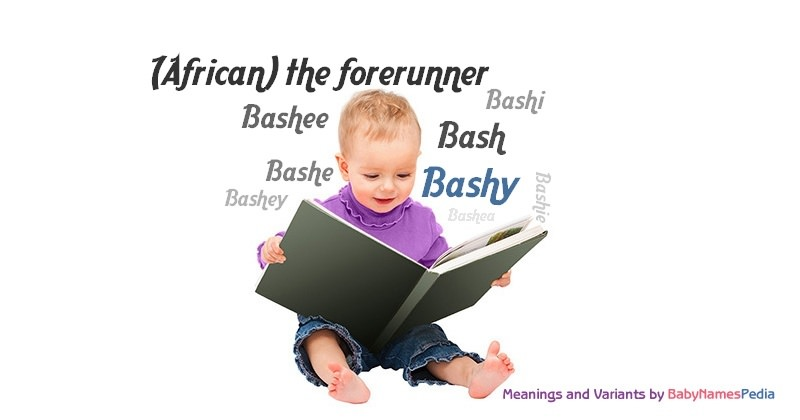 Meaning of the name Bashy