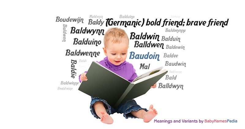 Meaning of the name Baudoin