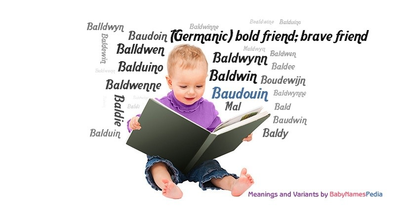 Meaning of the name Baudouin