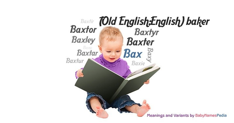Meaning of the name Bax