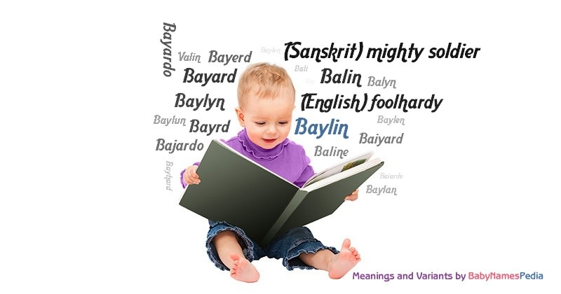 Meaning of the name Baylin