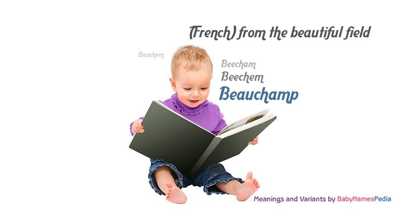 Meaning of the name Beauchamp