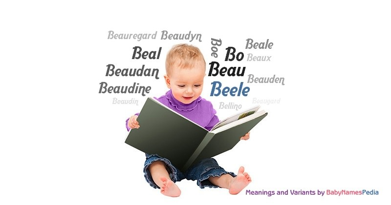 Meaning of the name Beele