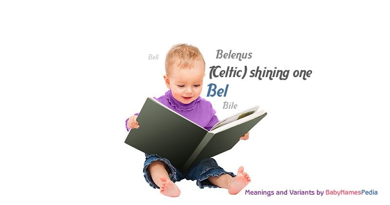 Meaning of the name Bel