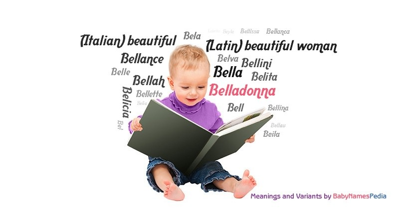 Meaning of the name Belladonna