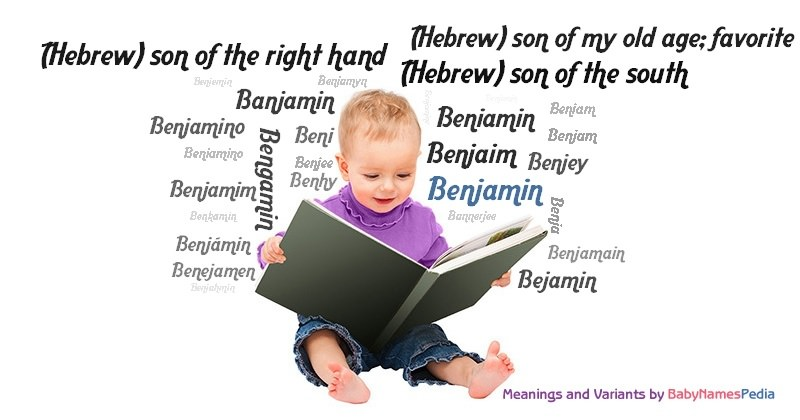 Meaning of the name Benjamin