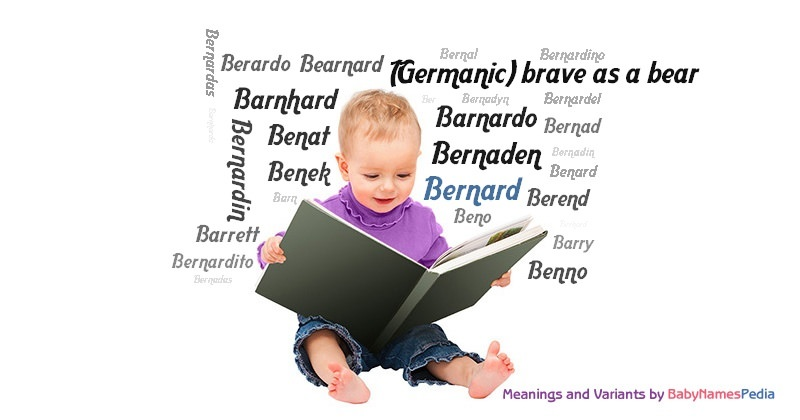 Meaning of the name Bernard