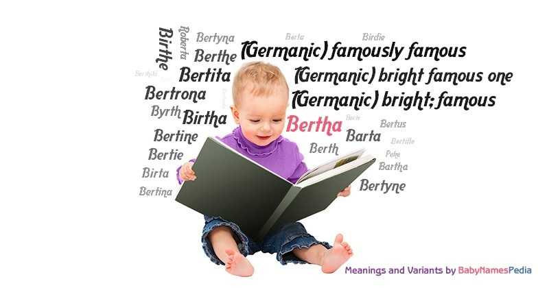 Meaning of the name Bertha