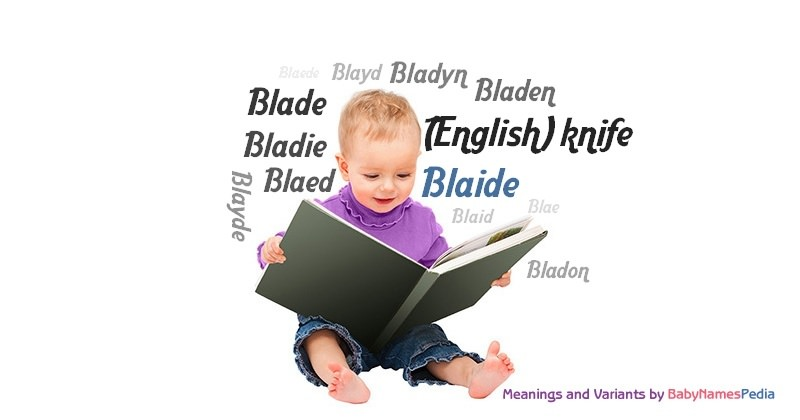 Meaning of the name Blaide