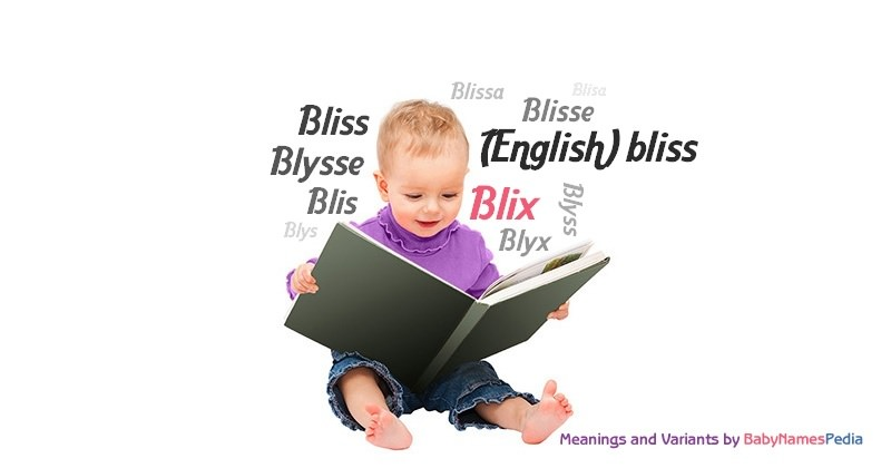 Meaning of the name Blix
