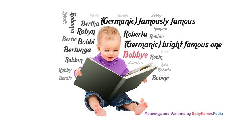Meaning of the name Bobbye