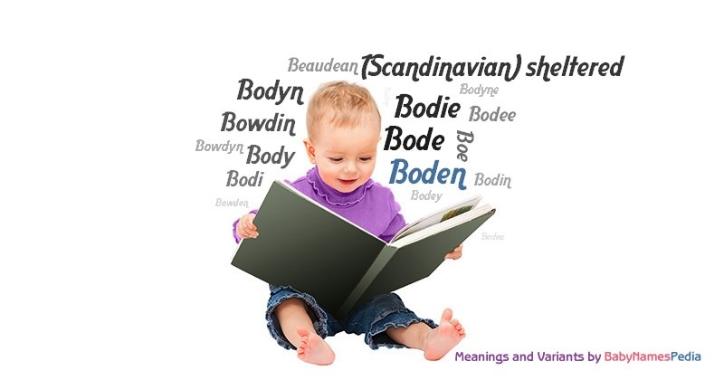 Meaning of the name Boden