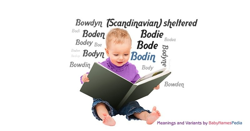 Meaning of the name Bodin
