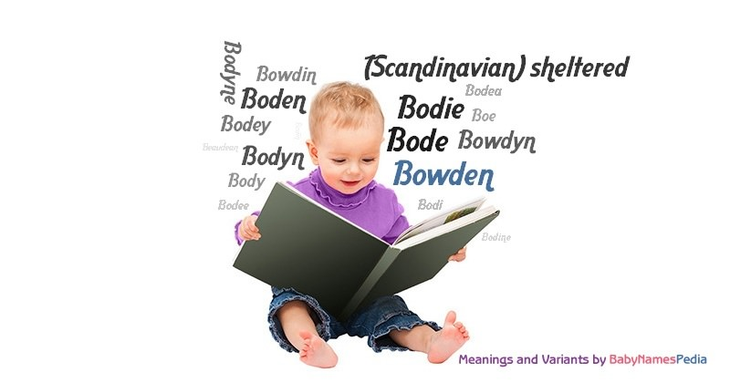 Meaning of the name Bowden