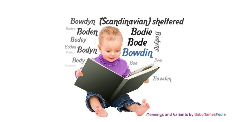 Meaning of the name Bowdin