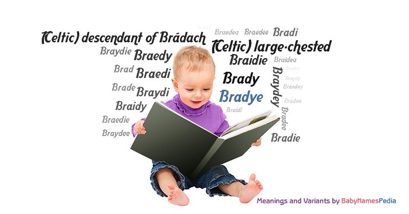 Meaning of the name Bradye