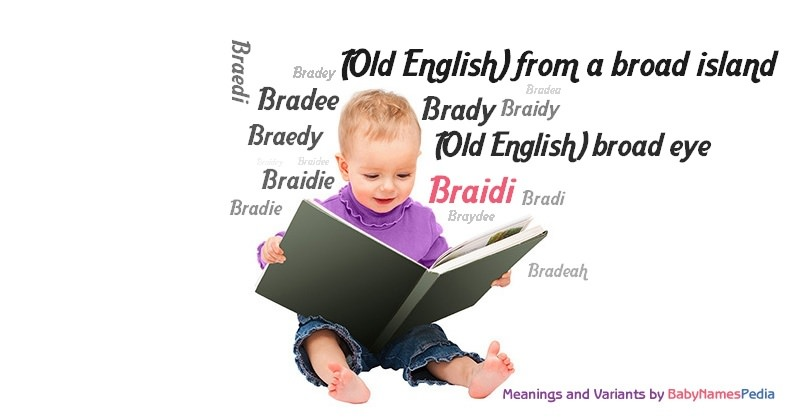 Meaning of the name Braidi