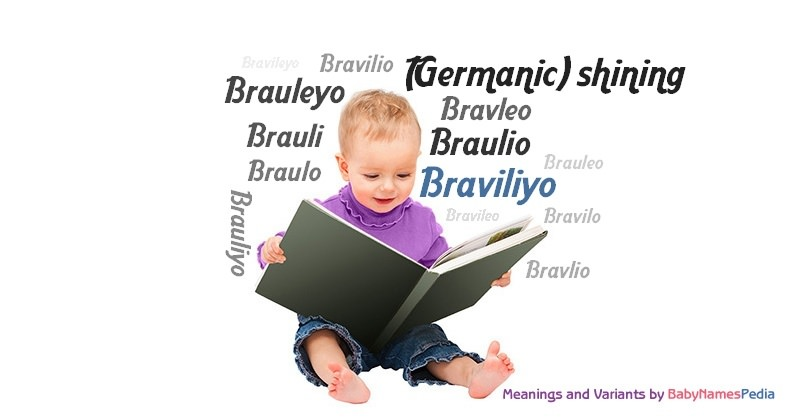 Meaning of the name Braviliyo