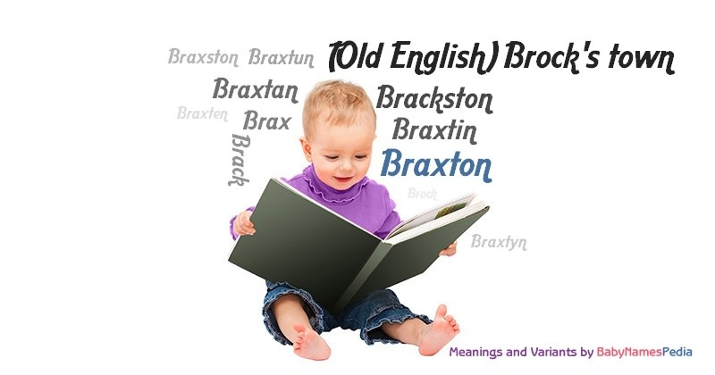 Meaning of the name Braxton