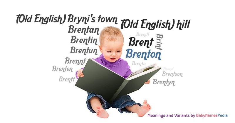 Meaning of the name Brenton
