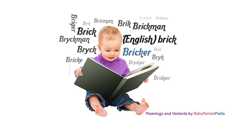 Meaning of the name Bricker