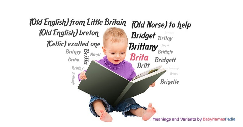 Meaning of the name Brita