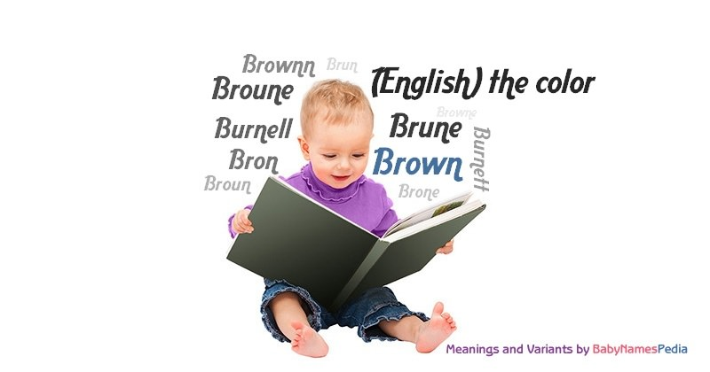 Meaning of the name Brown