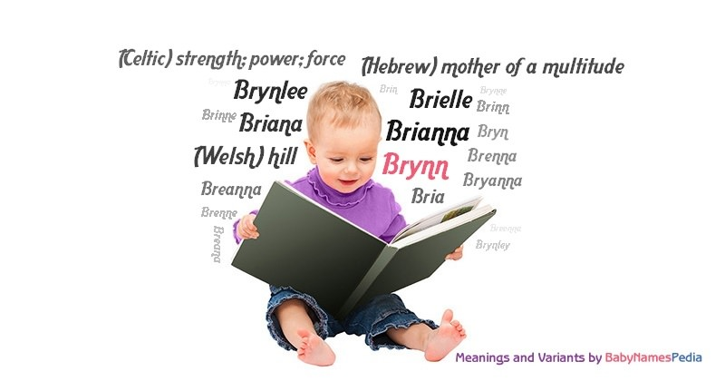what does bryn mean in welsh