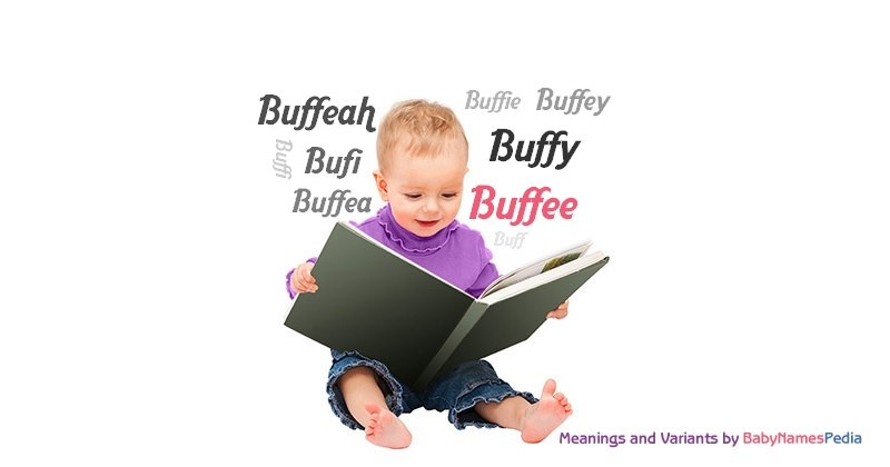 Meaning of the name Buffee