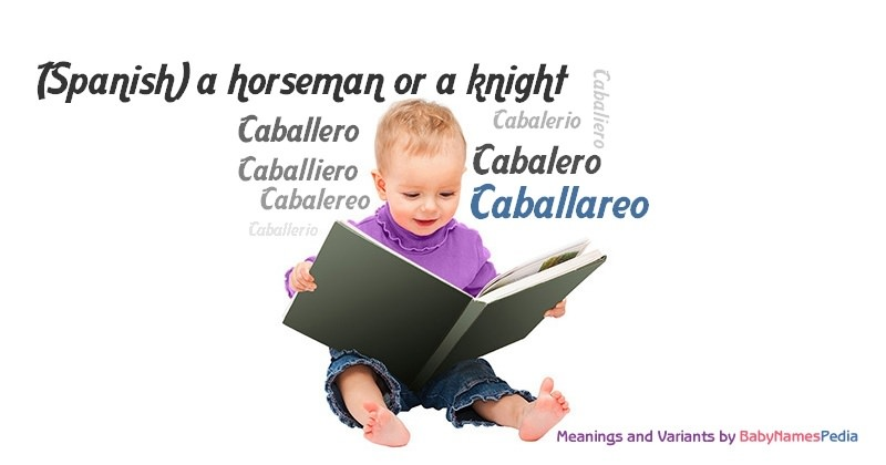 Meaning of the name Caballareo
