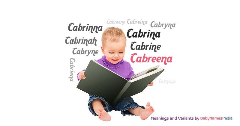 Meaning of the name Cabreena