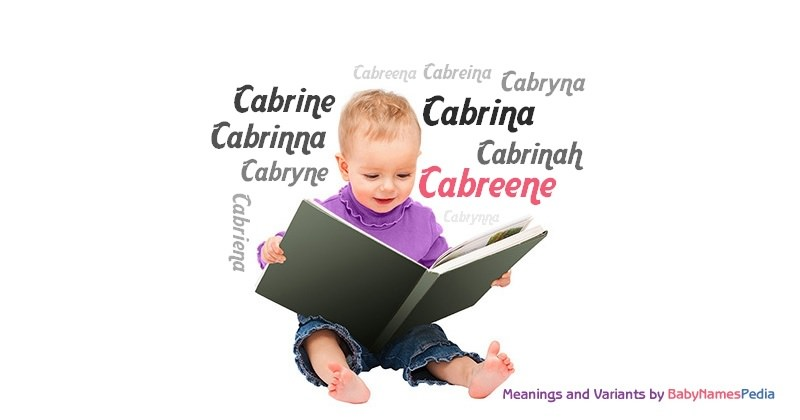Meaning of the name Cabreene