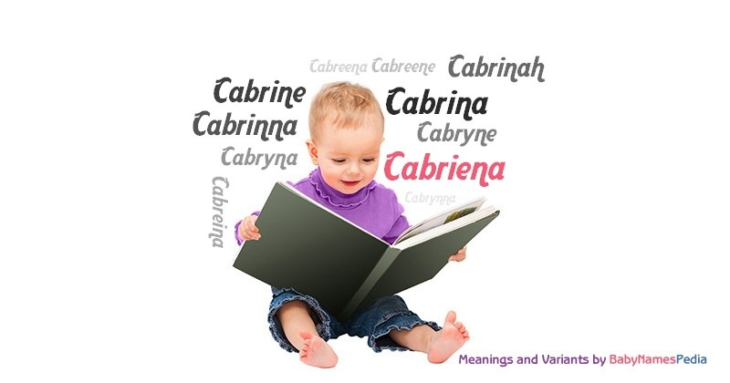 Meaning of the name Cabriena