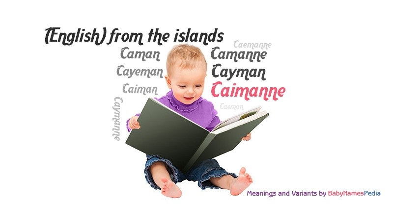 Meaning of the name Caimanne