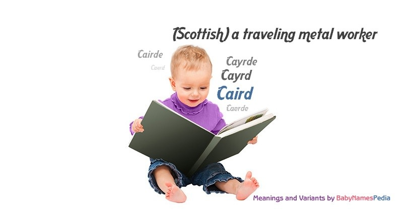 Meaning of the name Caird