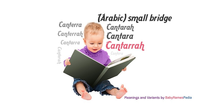 Meaning of the name Cantarrah