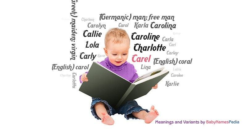 Meaning of the name Carel