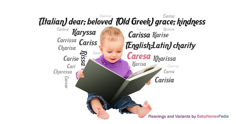 Meaning of the name Caresa