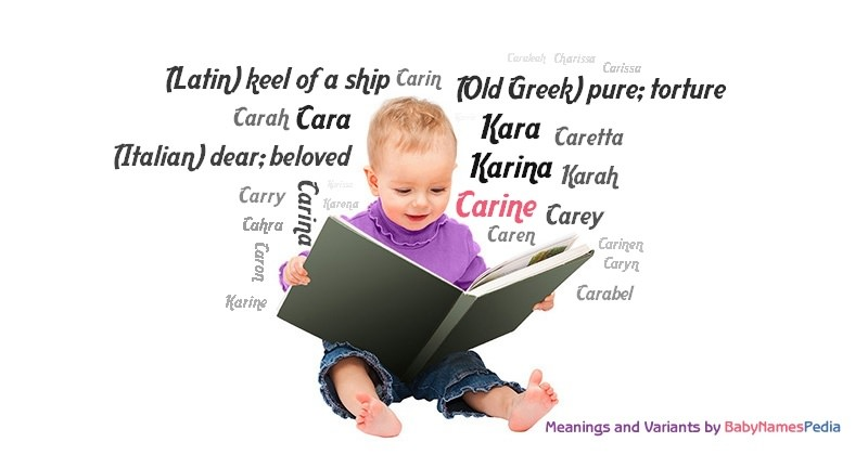Meaning of the name Carine