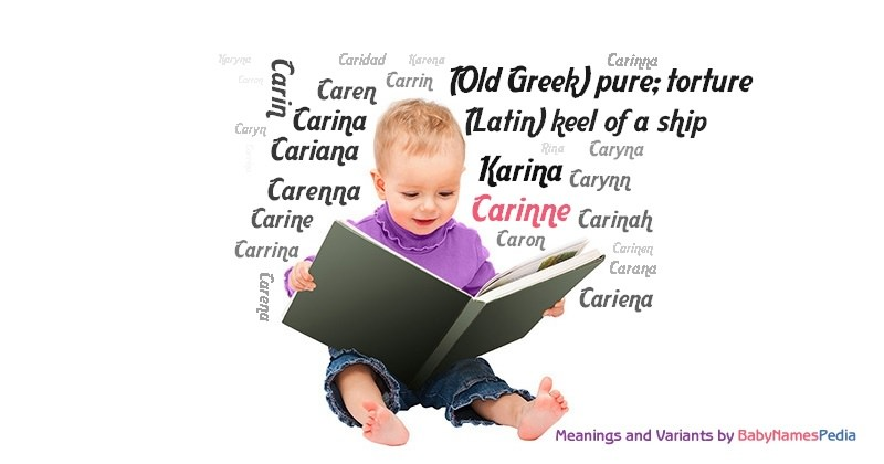 Meaning of the name Carinne