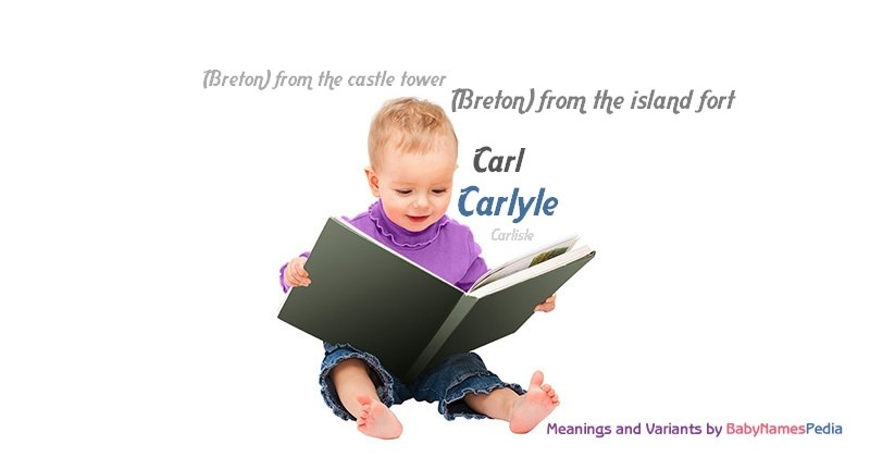 Meaning of the name Carlyle