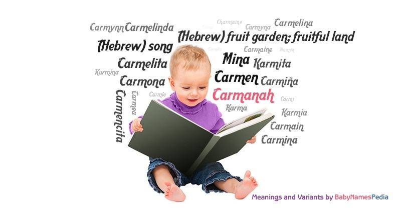 Meaning of the name Carmanah