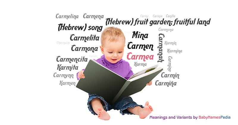 Meaning of the name Carmea