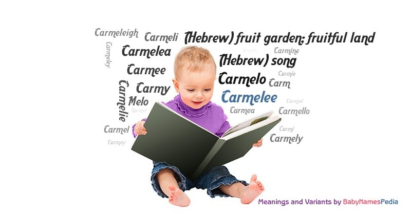 Meaning of the name Carmelee